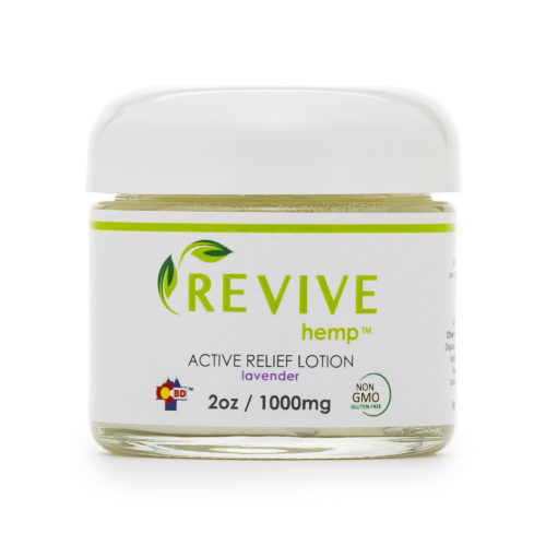 Active Relief CBD Lotion
