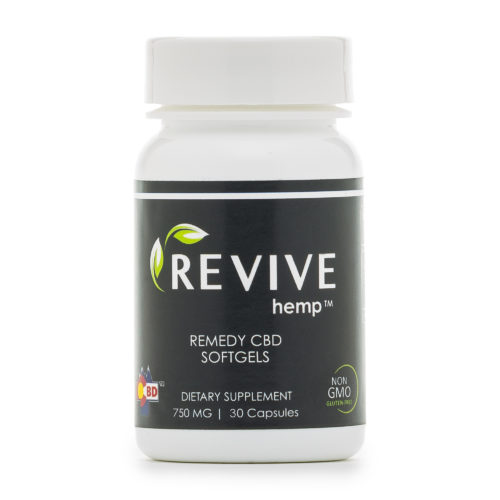 Remedy CBD Softgels
